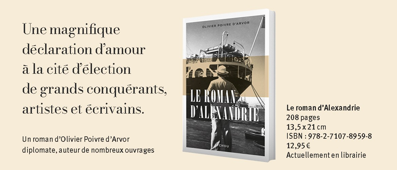Le nouveau roman d'Olivier Poivre d'Arvor